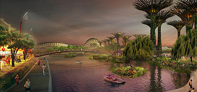 gardens by the bay - Squint/Opera